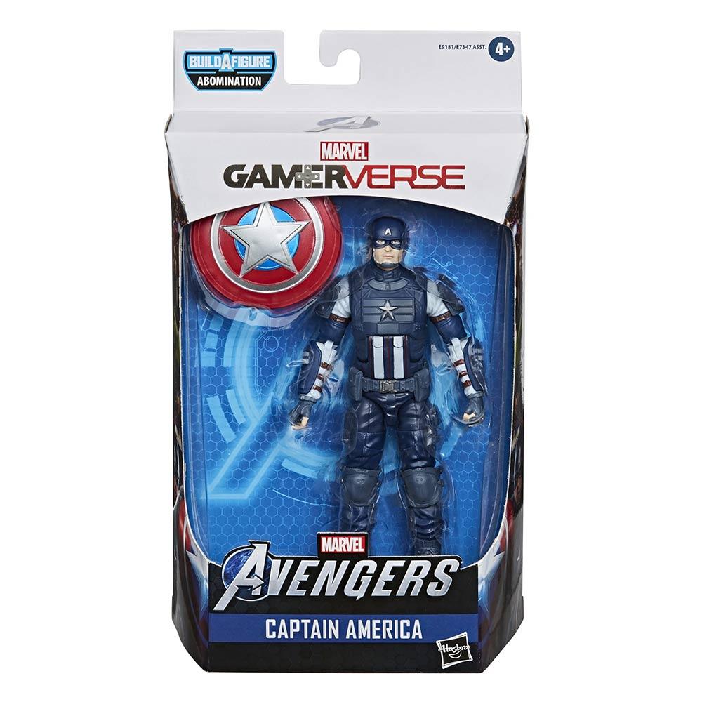 Avengers Video Game Marvel Legends 6-Inch Action Figure Wave 1 Captain America