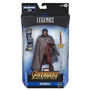 Avengers Marvel Legends Thor Wave 6 Inch Action Figure Heimdall