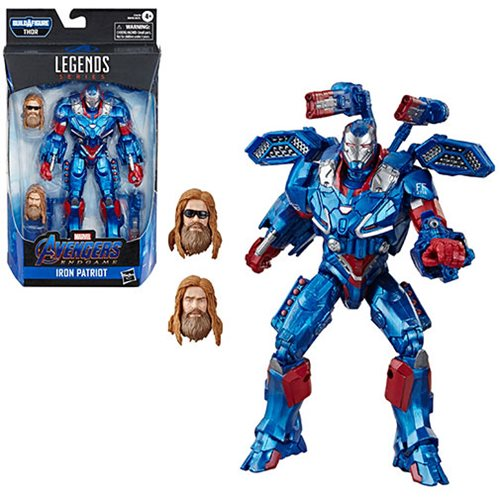 Avengers Marvel Legends Thor Wave 6 Inch Action Figure Iron Patriot