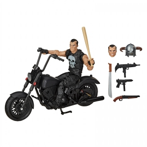 Marvel Legends Series 6-inch The Punisher Action Figure with Motorcyle