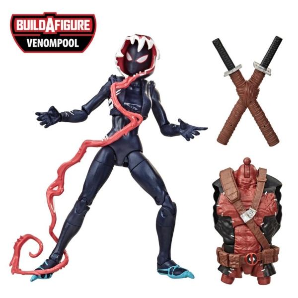 Venom Marvel Legends 6 Inch Action Figure Venompool Wave 1 Ghost Spider