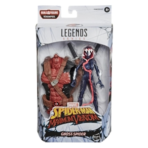 Venom Marvel Legends 6 Inch Action Figure Venompool Wave 1 Ghost Spider