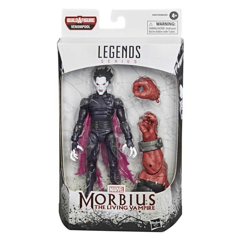 Venom Marvel Legends 6 Inch Action Figure Venompool Wave 1 Morbius