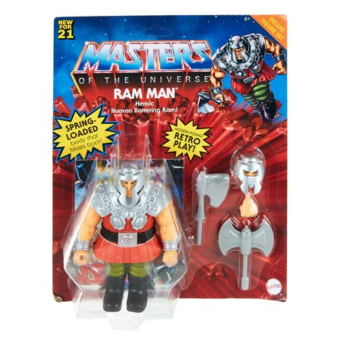 MASTERS OF THE UNIVERSE ORIGINS 5.5 INCH ACTION FIGURE RAM MAN