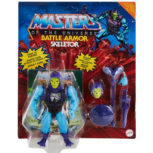 Masters of the Universe Origins 5.5 Inch Action Figure Battle Armor Skeletor