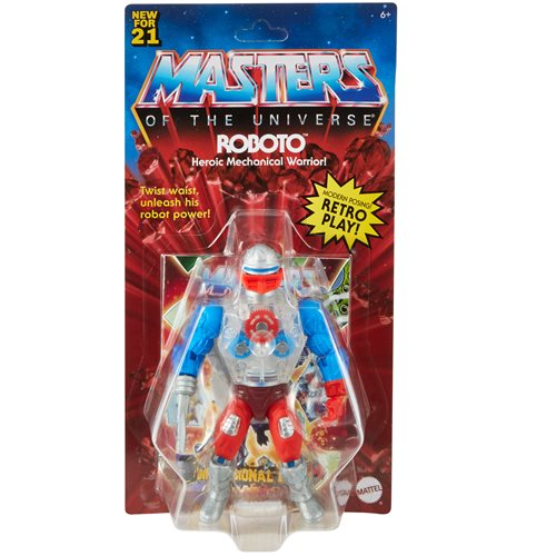 Masters of the Universe Origins 5.5 Inch Action Figure Roboto