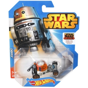 Hot Wheels Star Wars Character Car 1/64th Scale Die-Cast Chopper