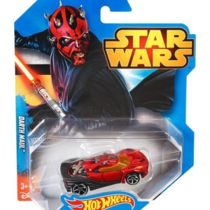 Hot Wheels Star Wars Character Car 1/64th Scale Die-Cast Darth Maul