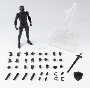 Male Body Black S.H.Figuarts Action Figure