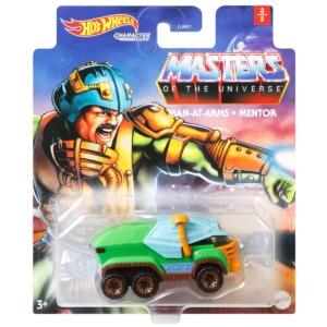 Masters of the Universe Hot Wheels Character Car Man At Arms