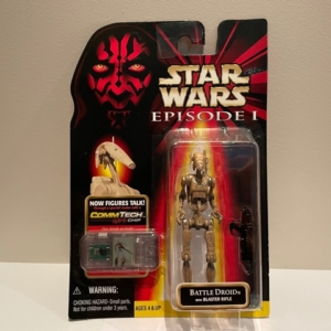 Star Wars Episode I - The Phantom Menace Battle Droid with Blaster Rifle (Dirty)