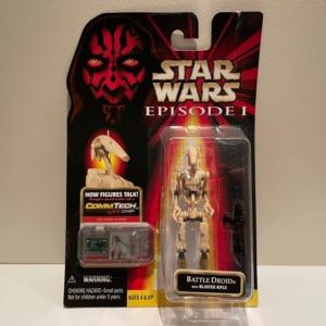 Star Wars Episode I - The Phantom Menace Battle Droid with Blaster Rifle (Shot)
