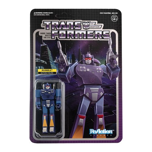 Transformers 3.75 Inch ReAction Figure Rumble