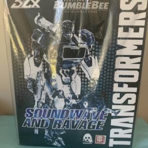 Transformers Bumblebee Soundwave and Ravage Deluxe Figures