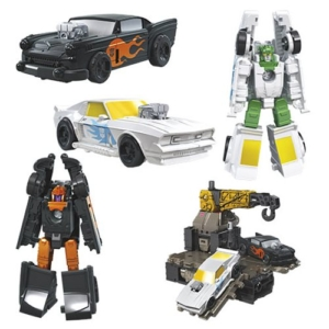 Transformers Generations Earthrise Micromasters Hot Rod Patrol
