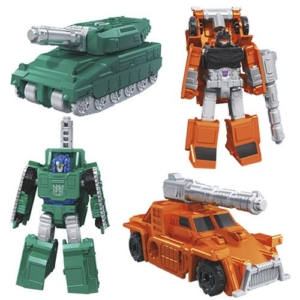 Transformers Generations Earthrise Micromasters Military Patrol
