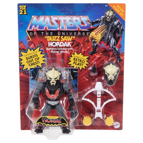 Masters of the Universe Origins 5.5 Inch Action Figure Deluxe Buzz Saw Hordak