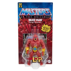 Masters of the Universe Origins 5.5 Inch Action Figure LoP Beast Man