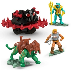 Mega Construx Masters of the Universe Battle Cat vs Roton Playset