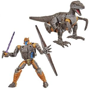 Transformers War for Cybertron Kingdom Voyager Dinobot