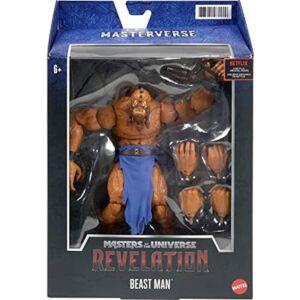 Masters of the Universe Masterverse Revelation Beast Man Action Figure