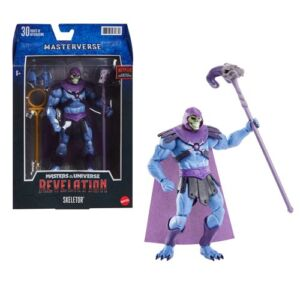 Masters of the Universe Masterverse Revelation Skeletor Classic Action Figure