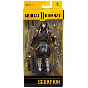 Mortal Kombat Series 5 7-Inch Action Figure Scorpion in the Shadows Variant