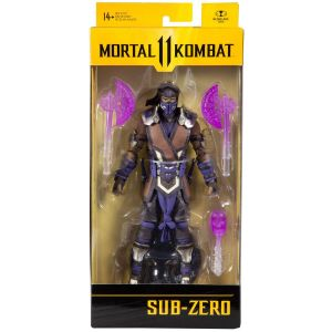 Mortal Kombat Series 5 7-Inch Action Figure Sub-Zero Winter Purple Variant