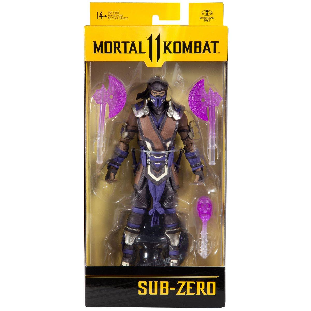 Mortal Kombat Series 5 7-Inch Action Figure Sub-Zero Winter Purple Variant