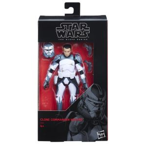 Star Wars The Black Series 6-Inch Action Figure Clone Commander Wolffe Exclusive