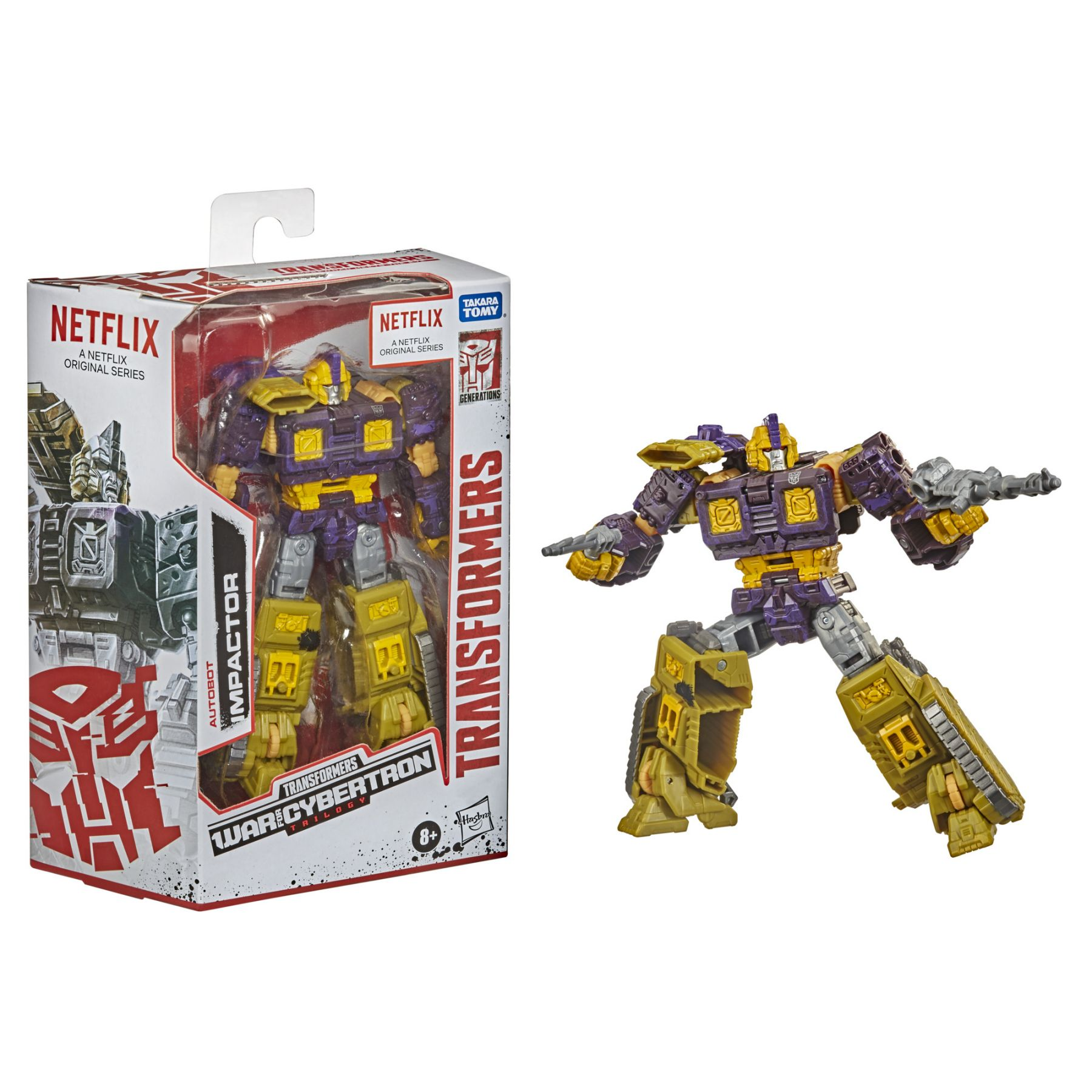 Transformers Generations War for Cybertron Series Deluxe Impactor