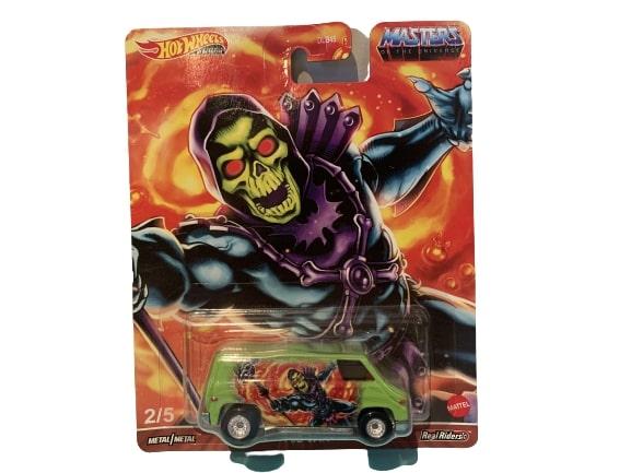 Hot Wheels Pop Culture 2021 MOTU Mix 1 Vehicles 70's Van Skeletor