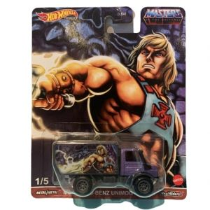 Hot Wheels Pop Culture 2021 MOTU Mix 1 Vehicles 88 Mercedes Unimog He-Man
