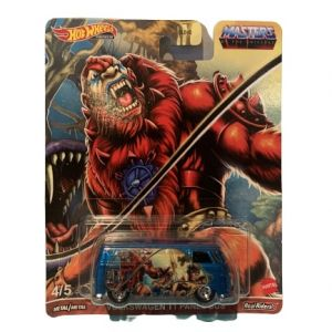 Hot Wheels Pop Culture 2021 MOTU Mix 1 Vehicles Volkswagen T1 Panel Bus Beast Man