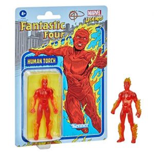 Marvel Legends Retro 375 Collection 3.75 Inch Action Figure Wave 1 Human Torch
