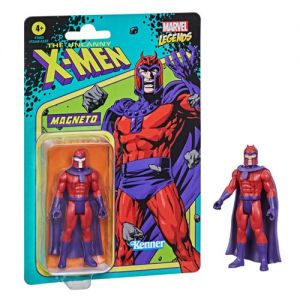 Marvel Legends Retro 375 Collection 3.75 Inch Action Figure Wave 1 Magneto