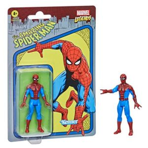 Marvel Legends Retro 375 Collection 3.75 Inch Action Figure Wave 1 Spider-Man