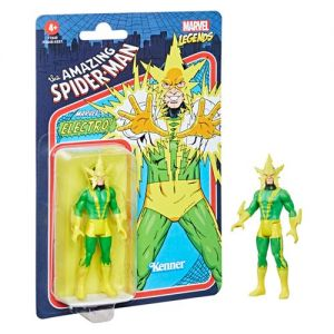 Marvel Legends Retro 375 Collection 3.75 Inch Action Figure Wave 2 Electro