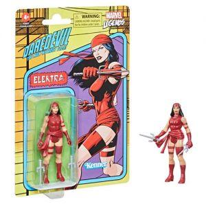 Marvel Legends Retro 375 Collection 3.75 Inch Action Figure Wave 2 Elektra