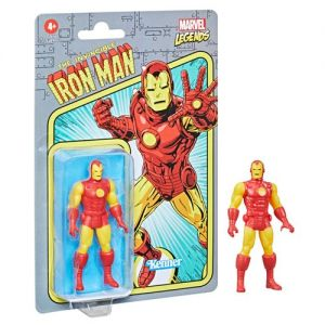 Marvel Legends Retro 375 Collection 3.75 Inch Action Figure Wave 2 Iron Man