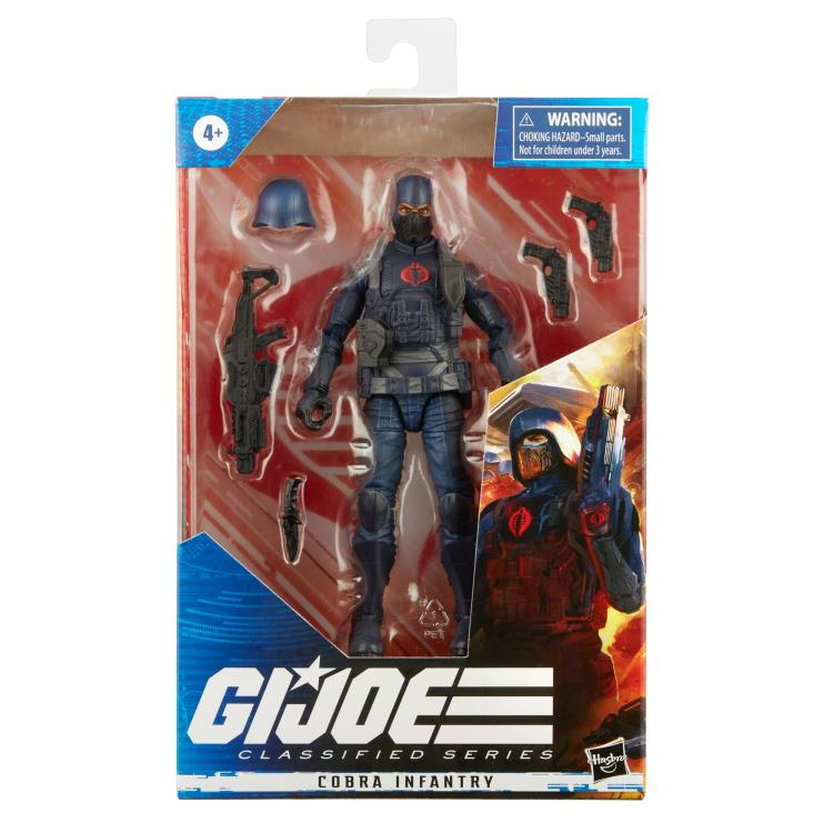 G.I. Joe Classified Series 6 Inch Action Figure Cobra Infantry