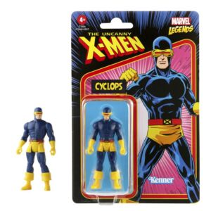 Marvel Legends Retro 375 Collection 3.75 Inch Action Figure Wave 3 Cyclops