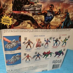 Masters of the Universe Origins 5.5 Inch Action Figure Clamp Champ (Warped Card Back)