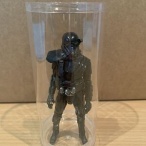 Plymor Plastic Action Figure Tube with Clear Acrylic Base