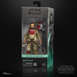 Star Wars The Black Series 6 Inch Action Figure Baze Malbus (Rogue One)