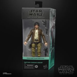 Star Wars The Black Series 6 Inch Action Figure Cassian Andor (Rogue One)
