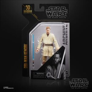 Star Wars The Black Series Archive 6 Inch Action Figure Obi-Wan Kenobi