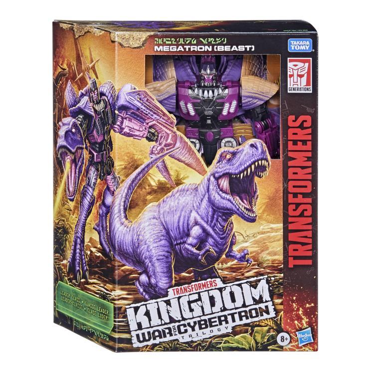 Transformers War for Cybertron Kingdom Leader Megatron (Beast)