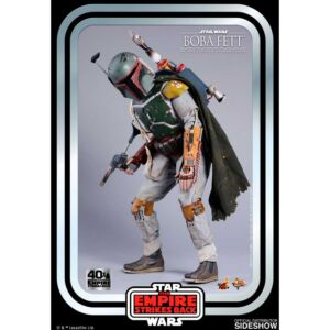 """Hot Toys Star Wars Boba Fett 40th Anniversary 1:6 Scale 12"""" Action Figure"""