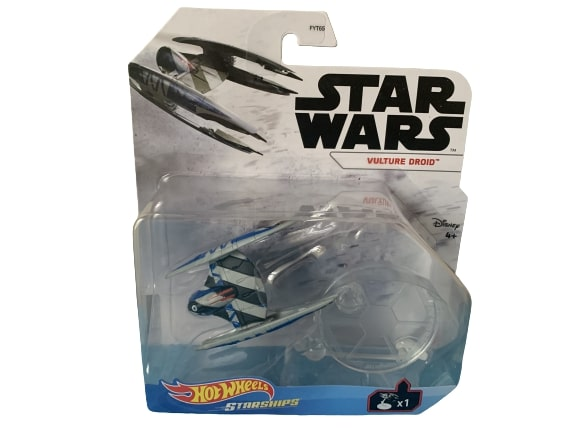 Star Wars Hot Wheels Starships 2021 Mix 3 Vehicles Vulture Droid
